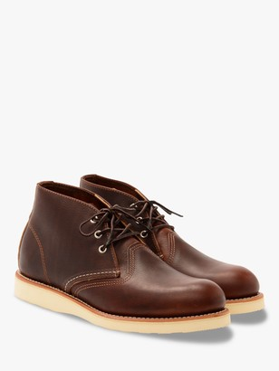 Red Wing Shoes 3141 Work Chukka Boot, Briar Oil Slick