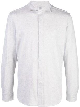Eleventy Classic Collar Button Shirt