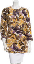 Tory Burch Silk Patterned Tunic