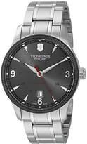 Victorinox Men's 'Alliance' Swiss Stainless Steel Automatic Watch (Model: 241714)