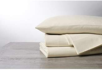 Coyuchi Cloud Brushed Organic Flannel Euro Pillow Insert
