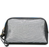 Kenzo Kombo clutch - women - Cotton/Calf Leather/Nylon/Metallic Fibre - One Size