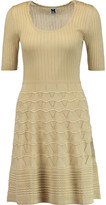 M Missoni Crochet-knit cotton-blend dress