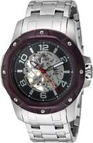 Invicta Men's 'Specialty' Mechanical Hand Wind Stainless Steel Casual Watch, Color:Silver-Toned (Model: 16124)