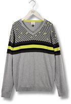 Armani Junior V neck sweater
