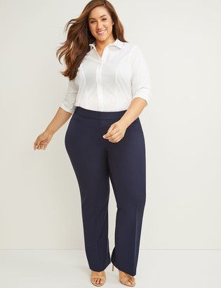 Lane Bryant Curvy Allie Tailored Stretch Trouser Pant