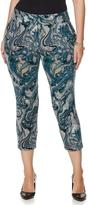 Melissa McCarthy Tailored Pintuck Crop Pant