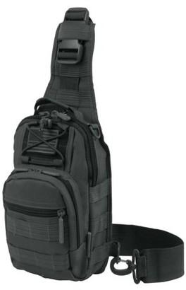 East West Usa Tactical Utility Sling Chest & Shoulder Bag - Charcoal