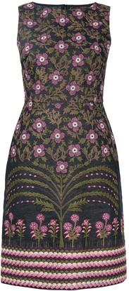 Giambattista Valli floral embroidered pencil dress