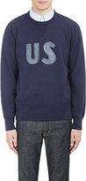 "Visvim Men's ""US"" Graphic Sweatshirt"