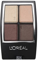 L'Oreal Paris WEAR INFINITE STUDIO SECRETS EYE SHADOW QUAD SUMMER DUSK