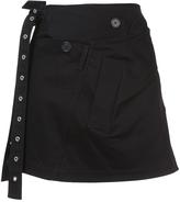 Proenza Schouler Twill Wrap Mini Skirt