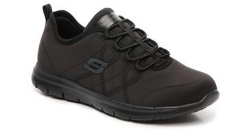 Skechers Ghenter Srelt Work Slip-On Sneaker