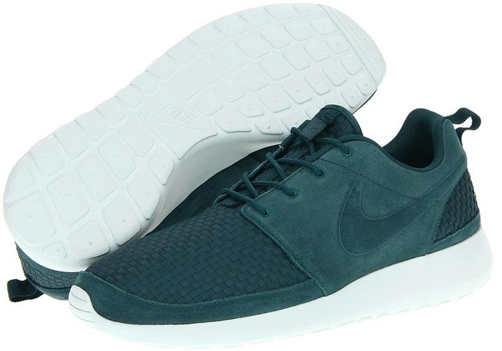 Nike Roshe Run WVN (Dark Atomic Teal/Fiberglass/Volt/Dark Atomic Teal) - Footwear