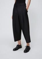 Jil Sander black drake cropped trouser