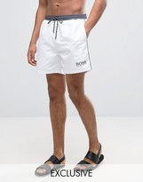 HUGO BOSS BOSS By Star Fish Swim Short Exclusive White