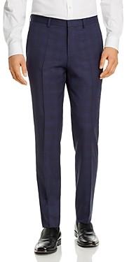 HUGO Hets Tonal Plaid Extra Slim Fit Suit Pants