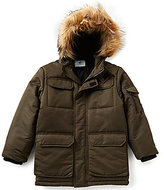 Class Club Big Boys 8-20 Hooded Parka Coat