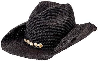San Diego Hat Crochet Raffia Straw Cowboy Hat