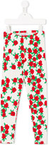 Mini Rodini roses print leggings