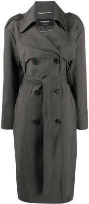 Rochas belted trench coat