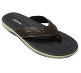 Merona Men's Jayce Flip Flop Sandals Brown