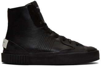 Givenchy Black High Tennis Light Sneakers