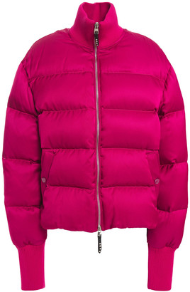 Alexander McQueen Quilted Silk-blend Twill Jacket