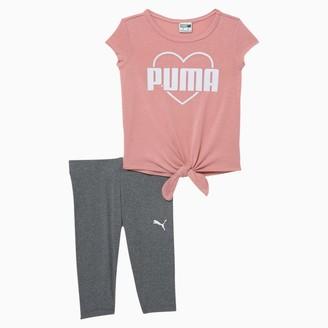 Puma Tee + Capri Legging Toddler Set