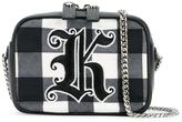 Christopher Kane gingham 'Box' crossbody bag - women - Cotton/Leather/metal - One Size