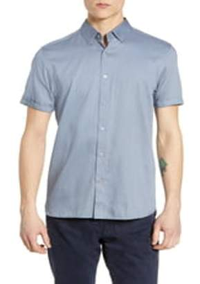 Ted Baker Short Sleeve Geo Print Shirt
