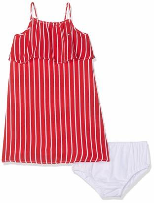 Tommy Hilfiger Baby Girls Fine Stripe Dress Slvls