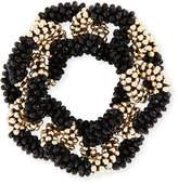 Meredith Frederick Elsa 14K Gold & Onyx Link Bracelet