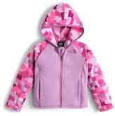 The North Face 'Glacier' Fleece Hooded Jacket (Toddler Girls & Little Girls)