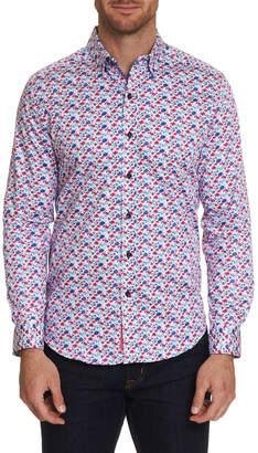 Robert Graham Men's Long Sleeve Everard Dress Shirt
