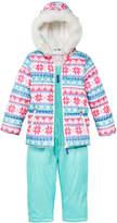 Carter's 2-Pc. Hooded Jacket with Faux-Fur Trim & Pants Snowsuit, Little Girls (4-6X)