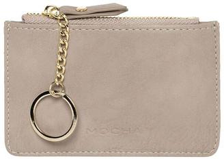 Mocha Key Ring Coin Wallet -