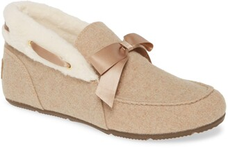 Vionic Shirley Faux Fur Slipper