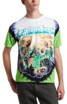 Liquid Blue Men's Grateful Dead Sunflower Terrapin Tie Dye T-Shirt
