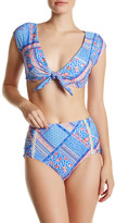 Betsey Johnson Floral Paisley Full Bikini Bottom
