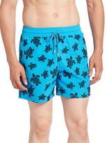 Vilebrequin Moorea Flocked Turtles Shorts