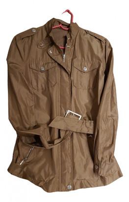 Stefanel Beige Silk Trench coats