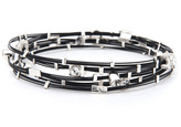 Cara Accessories Formal Affair Crystal Bangle Set