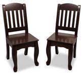 Teamson Kids Windsor Chairs in Espresso (Set of 2)