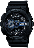 Casio Ga-110-1ber G-shock Resin Strap Watch, Black
