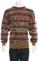Missoni Patterned Crew Neck Sweater