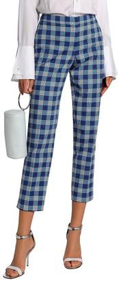 Mary Katrantzou Silk-Lined Trouser