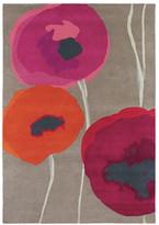 Sanderson Poppies Red/Orange Rug - 170x240cm
