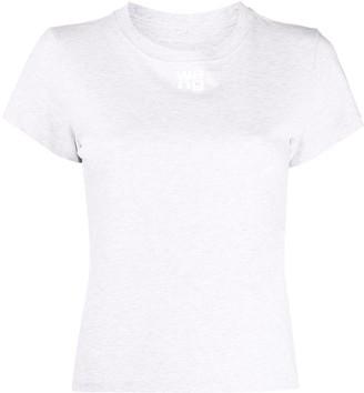 Alexander Wang short-sleeved logo print T-shirt