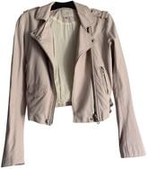 IRO Pink Leather Jackets